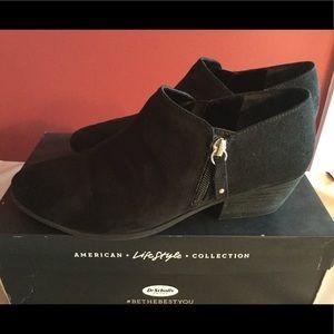 Dr Scholl's Black booties